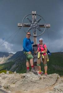 Bergkreuz der Gürbelspitze im Tuxer Tal