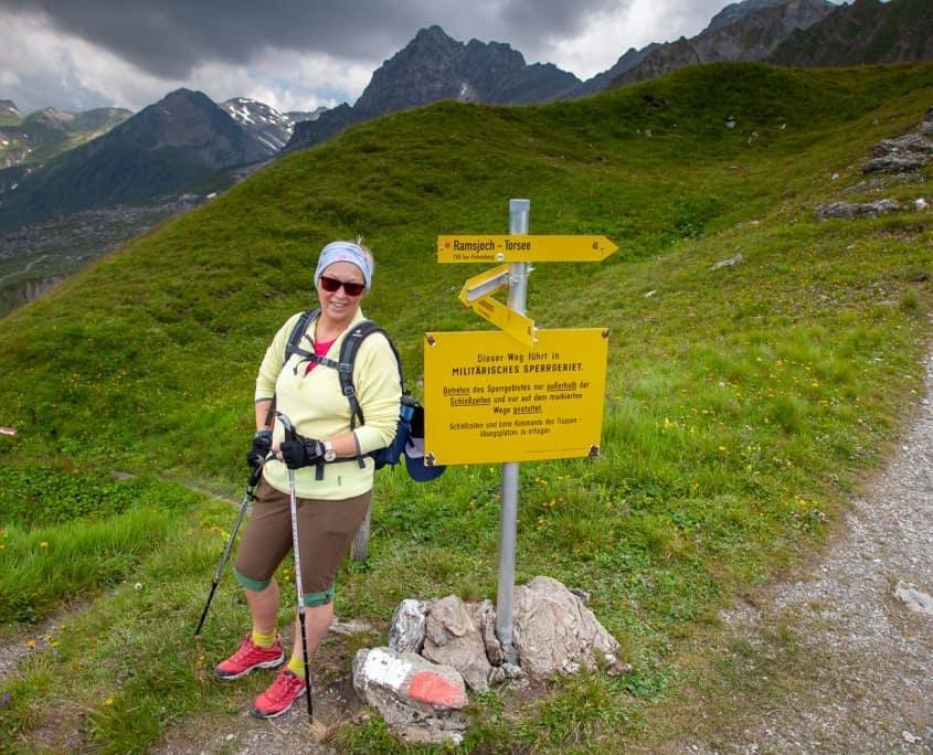 Wanderer in Tirol