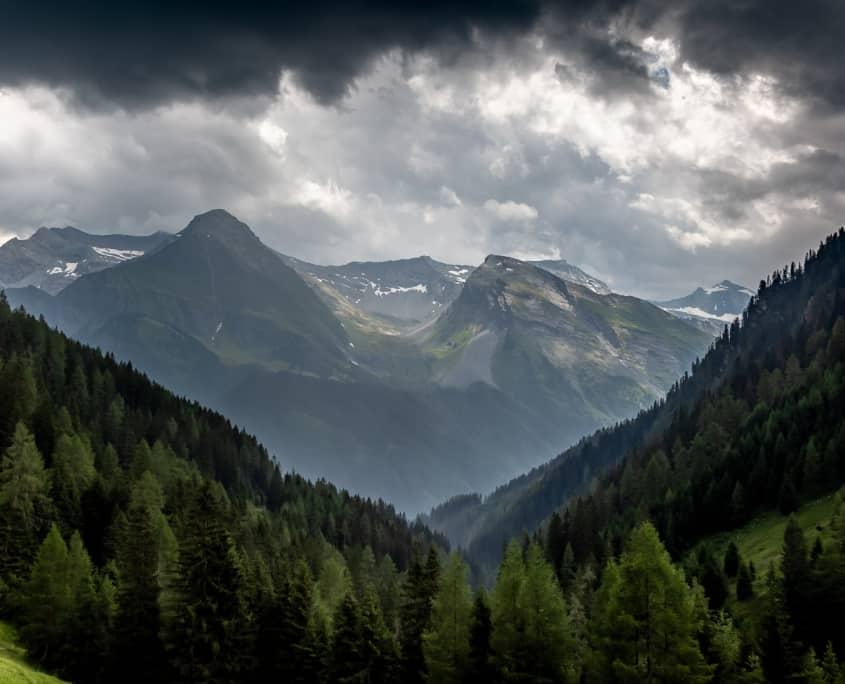 Gipfel der Hintertuxer Bergwelt