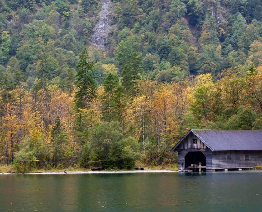 Bootshaus am Königssee