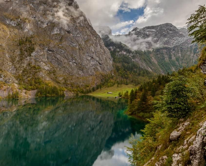 Der Obersee und die Fischunkelalm
