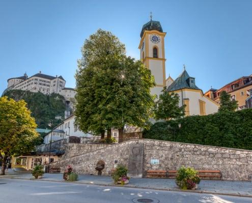 Pfarrkirche im Zentrum von Kufstein