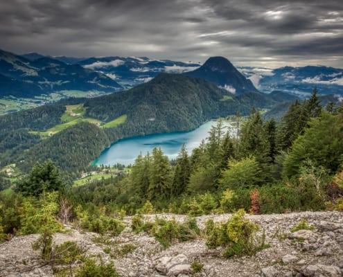 Herrlicher Blick auf den Hintersteiner See
