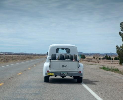 Schöner Ford auf der Route 66