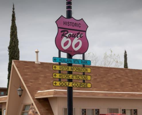 Touristenschilder Route 66