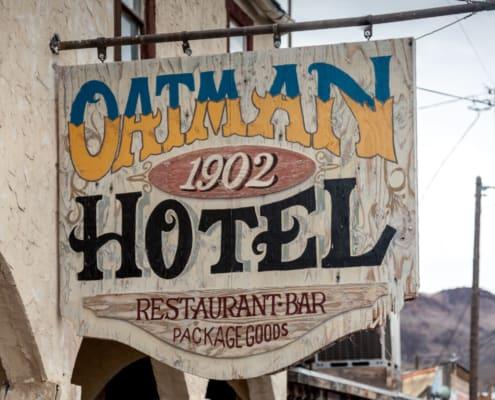 Oatman Hotel von 1902