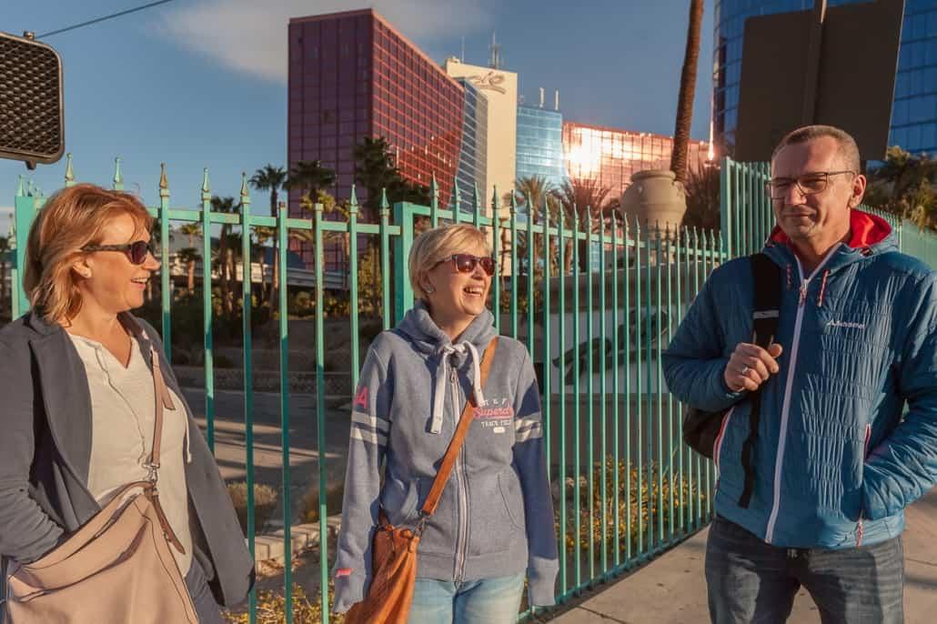 Zu Fuss in Las Vegas