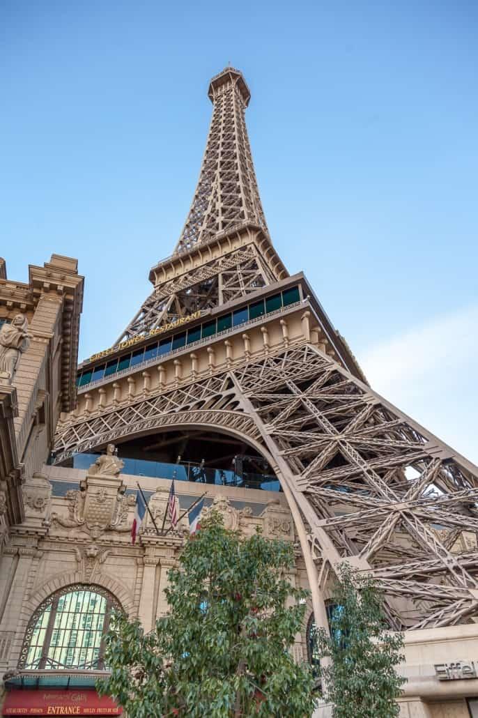 Der Eifelturm in Las Vegas