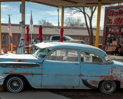 Altes Auto in Seligman