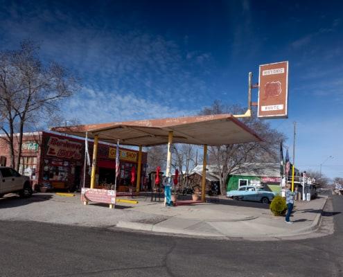 Alte Tankstelle in Seligman