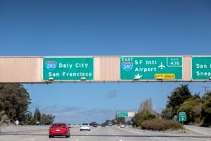 Schild Richtung San Francisco
