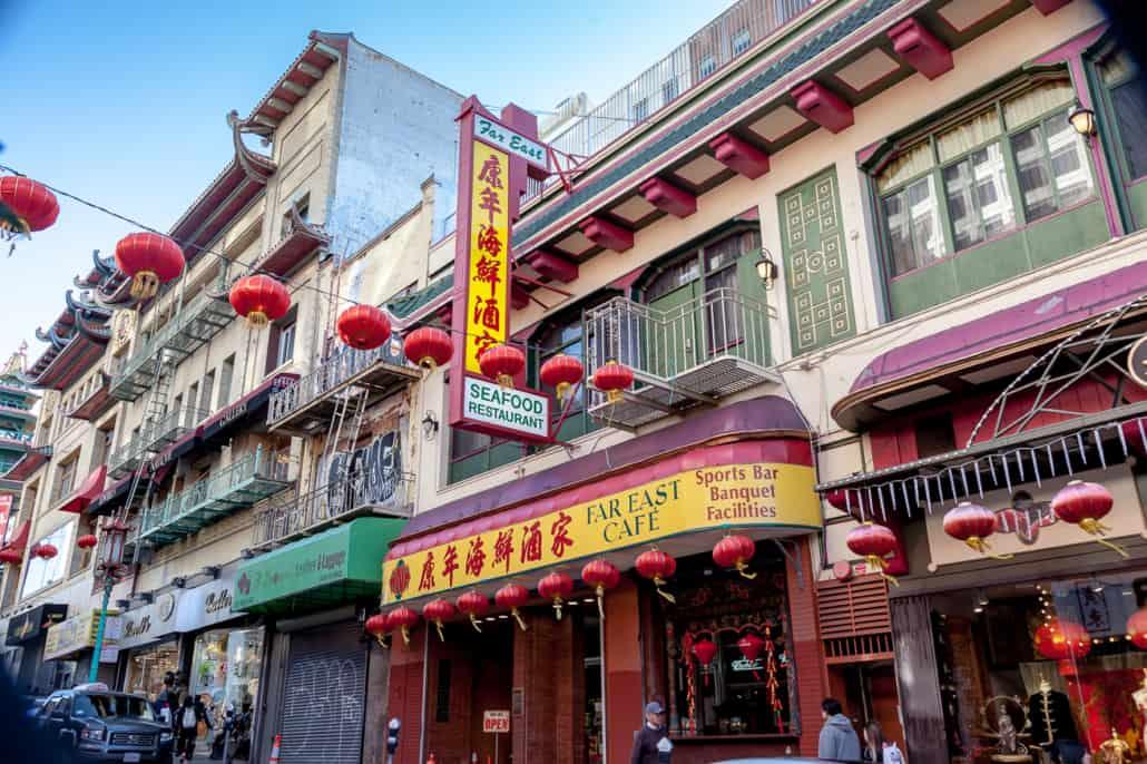 Gebäude im China Town Viertel