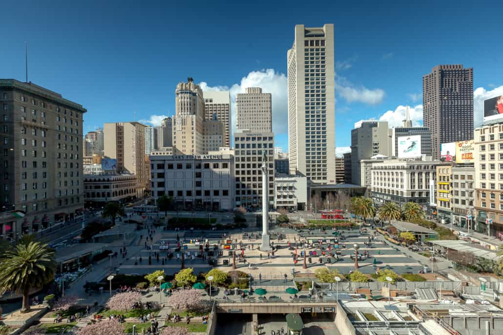 Blick auf den Union Square