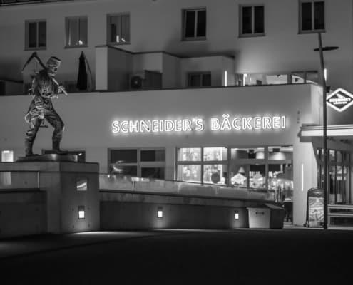 Bergmann Henner auf der Siegbrücke