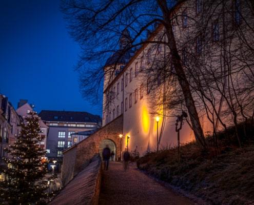 Aufgang zum Unteren Schloss am Kölner Tor