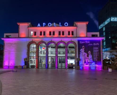 Vorplatz des Apollo Theaters in Siegen